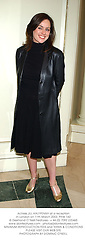 Actress JILL HALFPENNY at a reception in London on 11th March 2003.PHW 160