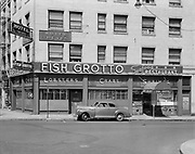 Ackroyd 00010-02. Fish Grotto, 1039 SW Stark, corner 11th, August 4, 1947.