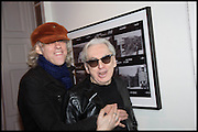 SIR BOB GELDOF; CHRIS STEIN, Chris Stein / Negative: Me, Blondie, and The Advent of Chris Stein / Negative: Me, Blondie, and The Advent of Punk - private view, Somerset House, the Strand. London. 5 November 2014.