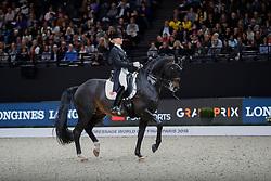 Von Bredow-Werndl Jessica, GER, Unee BB<br /> LONGINES FEI World Cup™ Finals Paris 2018<br /> © Hippo Foto - Dirk Caremans<br /> 14/04/18
