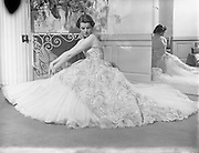 31/09/1952<br /> 09/31/1952<br /> 31 September 1952 <br /> Irene Gilbert fashion parade at the Shelbourne Hotel and at her Salon.
