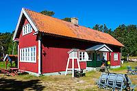 Sweden, Gotska Sandön national park. Fyrbyn.