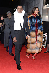 (L-R) Sean 'Diddy' Combs and Naomi Campbell attend the Pirelli Calendar 2018 Launch Gala at The Manhattan Center in New York, NY, on November 10, 2017. (Photo by Anthony Behar/Sipa USA)