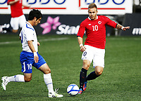 Fotball 1. juni 2012 , U21  Norge - Azerbaijan<br /> Norway - Azerbaijan<br /> Marcus Pedersen  ,Norge<br /> Eshgin Guliyev, Azerbadijan