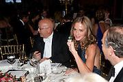 CHRIS BLACKHURST; TRINNI WOODALL, Evgeny Lebedev and Graydon Carter hosted the Raisa Gorbachev charity Foundation Gala, Stud House, Hampton Court, London. 22 September 2011. <br /> <br />  , -DO NOT ARCHIVE-© Copyright Photograph by Dafydd Jones. 248 Clapham Rd. London SW9 0PZ. Tel 0207 820 0771. www.dafjones.com.
