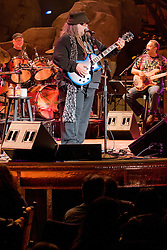 Bill Kreutzmann on Percussion, Papa Mali on Guitar & George Porter Jr. on Bass. 7 Walkers in Concert in The Wolfs Den at Mohegan Sun Casino on December 9, 2010
