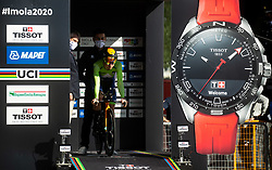 Jan Tratnik of Slovenia competes during Men Time Trial at UCI Road World Championship 2020, on September 24, 2020 in Imola, Italy. Photo by Vid Ponikvar / Sportida