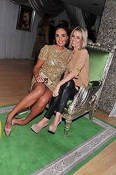 Left to right, TAMARA ECCLESTONE and CAROLINE HABIB at the 2012 Rodial Beautiful Awards held at The Sanderson Hotel, Berners Street, London on 6th March 2012.