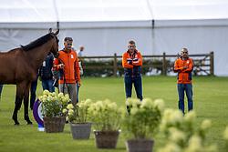 Houtzager Marc, NED, Sterrehofs Calimero<br /> European Championship Riesenbeck 2021<br /> © Hippo Foto - Dirk Caremans<br />  31/08/2021