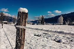 THEMENBILD - Winterlandschaft zwischen Kaprun und Piesendorf, aufgenommen am 28. Dezember 2019, Kaprun, Österreich // Winterlandscape between Kaprun and Piesendorf on 2019/12/28, Kaprun, Austria. EXPA Pictures © 2019, PhotoCredit: EXPA/ Stefanie Oberhauser