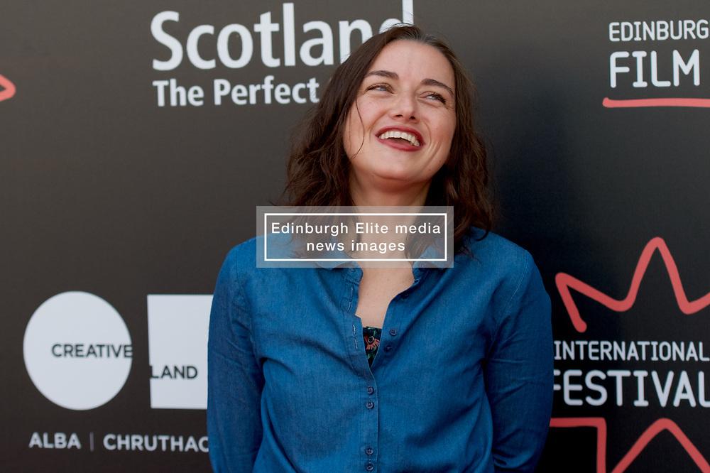 On the red carpet during the Edinburgh International Film Festival Premier of Daphne at Cineworld, Valentina Brazzinni, Friday 23rd June 2017(c) Brian Anderson   Edinburgh Elite media