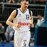Fenerbahce Ulker's Sarunas JASIKEVICIUS during their Turkish Basketball Legague Play-Off qualifying first match Fenerbahce Ulker between Antalya BSB at the Sinan Erdem Arena in Istanbul Turkey on Wednesday 11 May 2011. Photo by TURKPIX