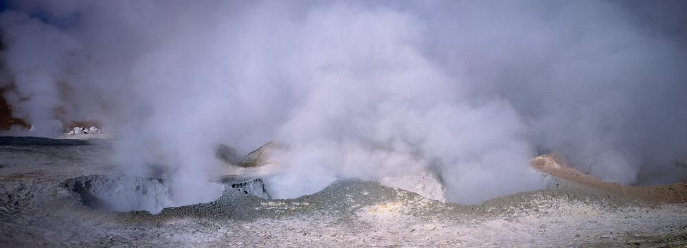 Sol de Manana Fumerole / geysers<br />Bolivian Altiplan<br />BOLIVIA