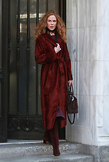 """Nicole Kidman sports red hair filming """"The Undoing"""" in NYC - 15 March 2019"""