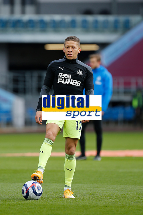 Football - 2020 / 2021 Premier League - Burnley vs. Newcastle United<br /> <br /> Dwight Gayle of Newcastle United, at Turf Moor.<br /> <br /> <br /> COLORSPORT/ALAN MARTIN