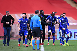 January 19, 2019 - Monaco, France - 18 IBRAHIMA SISSOKO (STRA) - 19 ANTHONY CACI (STRA) - JOIE (Credit Image: © Panoramic via ZUMA Press)
