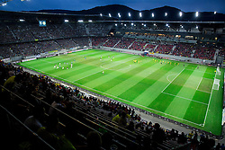 Stadium prior to the football match between WAC Wolfsberg (AUT) and  Borussia Dortmund (GER) in First leg of Third qualifying round of UEFA Europa League 2015/16, on July 30, 2015 in Wörthersee Stadion, Klagenfurt, Austria. Photo by Vid Ponikvar / Sportida