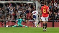 Football - 2018 / 2019 UEFA Nations League A - Group Four: England vs. Spain<br /> <br /> Marcu s Rashford (England) strikes to give England the lead at Wembley Stadium.<br /> <br /> COLORSPORT/DANIEL BEARHAM