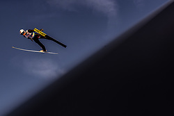 28.02.2019, Seefeld, AUT, FIS Weltmeisterschaften Ski Nordisch, Seefeld 2019, Skisprung, Herren, Qualifikation, im Bild Thomas Aasen Markeng (NOR) // Thomas Aasen Markeng of Norway during his Qualification Jump of men's Skijumping of FIS Nordic Ski World Championships 2019. Seefeld, Austria on 2019/02/28. EXPA Pictures © 2019, PhotoCredit: EXPA/ JFK