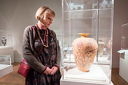 DATE CORRECTION. Images taken today 23/01/2020 © Licensed to London News Pictures. 23/01/2020. Bath, UK. GRAYSON PERRY opens his Grayson Perry: The Pre-Therapy Years exhibition, at the The Holburne Museum, Great Pulteney Street, Bath. Photo credit: Simon Chapman/LNP.