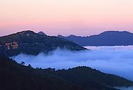 France, Languedoc Roussillon, Gard, Cevennes, la vallée de Sumène, le Ranc de Banes