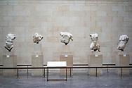 The East Pediment of Parthenon. United Kingdom, London, British Museum