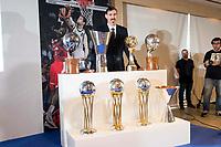 "Andres ""El Chapu"" Nocioni during the appearance of retirement as profesional basketball player at Stadium Santiago Bernabeu in Madrid, Spain. April 04, 2017. (ALTERPHOTOS/BorjaB.Hojas)"