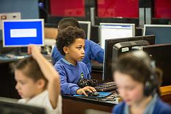 IT class, primary school UK