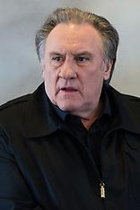 Gerard Depardieu at Paris Book Fair - Feb 2018