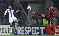 20120216: PORTO, PORTUGAL – UEFA Europa League 2011/2012 - 1/16 Final - 1st Leg: FC Porto vs Man. City.<br /> In photo: LESCOTT AND HULK.<br /> PHOTO: PEDRO PEREIRA/CITYFILES