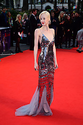 Andrea Riseborough attending the Closing Gala and International premiere of The Irishman, held as part of the BFI London Film Festival 2019, London.