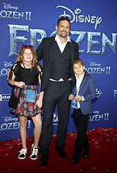 Jeremy Sisto at the World premiere of Disney's 'Frozen 2' held at the Dolby Theatre in Hollywood, USA on November 7, 2019.