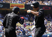 MLB-New York Yankees at Los Angeles Dodgers-Aug 24, 2019