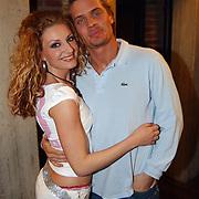 Great Lenght haarshow, Denise van Rijswijk en vriend Winston Post
