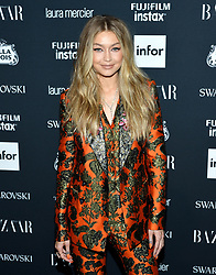 Model Gigi Hadid attends the Harper's Bazaar Icons by Carine Roitfeld celebration at The Plaza Hotel in New York, NY on September 8, 2017.  (Photo by Stephen Smith/SIPA USA)