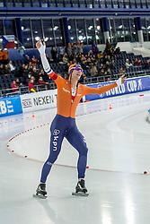 11-12-2016 NED: ISU World Cup Speed Skating, Heerenveen<br /> Erik-Jan  Kooiman pakt zilver op de 10000 m