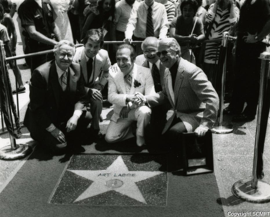 1981 Art Laboe's Walk of Fame ceremony