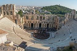 Theatre of Dionysus Eleuthereus, Pathenon, Acropolis, Athens, Greece