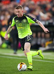 Celtic's Jonny Hayes in action