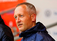 Football - 2021 / 2022 EFL Carabao Cup - Round One: Blackpool vs. Middlesbrough<br /> <br /> Blackpool manager Neil Critchley before the kick off, at Bloomfield Road.<br /> <br /> COLORSPORT/ALAN MARTIN