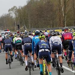 04-04-2021: Wielrennen: Ronde van Vlaanderen (Vrouwen): Oudenaarde<br />Start vrouwenwedstrijd