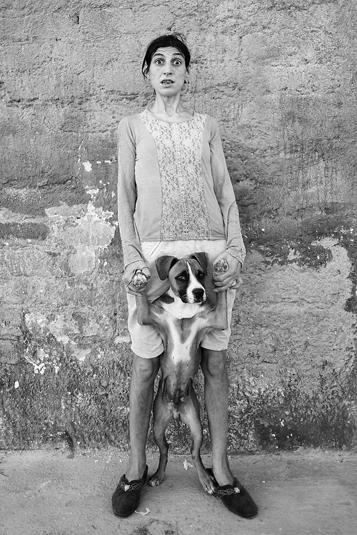 Unknown Woman. Castel Volturno. Italy. 2015.