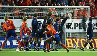Fotball tippeliga  menn Aalesund v Bodø-Glimt  1-1,18. September 2005,Aalesunds Bechara Oliveira's første touch på ballen etter han ble byttet inn ble scoring på Frispark mot Bodø-Glimt Foto: Richard Brevik, Digitalsport