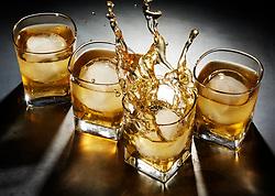 Whiskey on Rocks