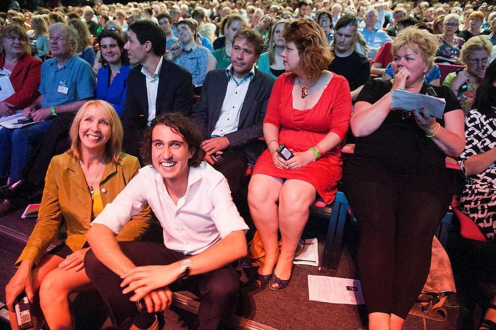 Nederland, Utrecht, 30  juni 2012.Groen Links verkiezingscongres.. Foto (c): Michiel Wijnbergh