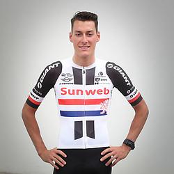 28-06-2017: Wielrennen: Tour Sunweb persmoment: Dusseldorf<br />Ramon Sinkeldam in zijn Nationale Kampioens trui