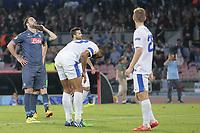 delusione di Gonzalo Higuain Napoli, dejection <br /> Napoli 07-05-2015 Stadio San Paolo <br /> Football Calcio UEFA Europa League Semi-finals, First leg. Napoli - Dnipro.<br /> Foto Cesare Purini / Insidefoto