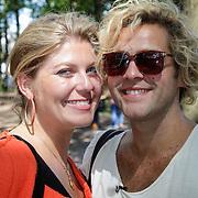 NLD/Laren/20120810 - Opname voor RTL programma met Paul Turner en Pauline Wingelaar in Laren
