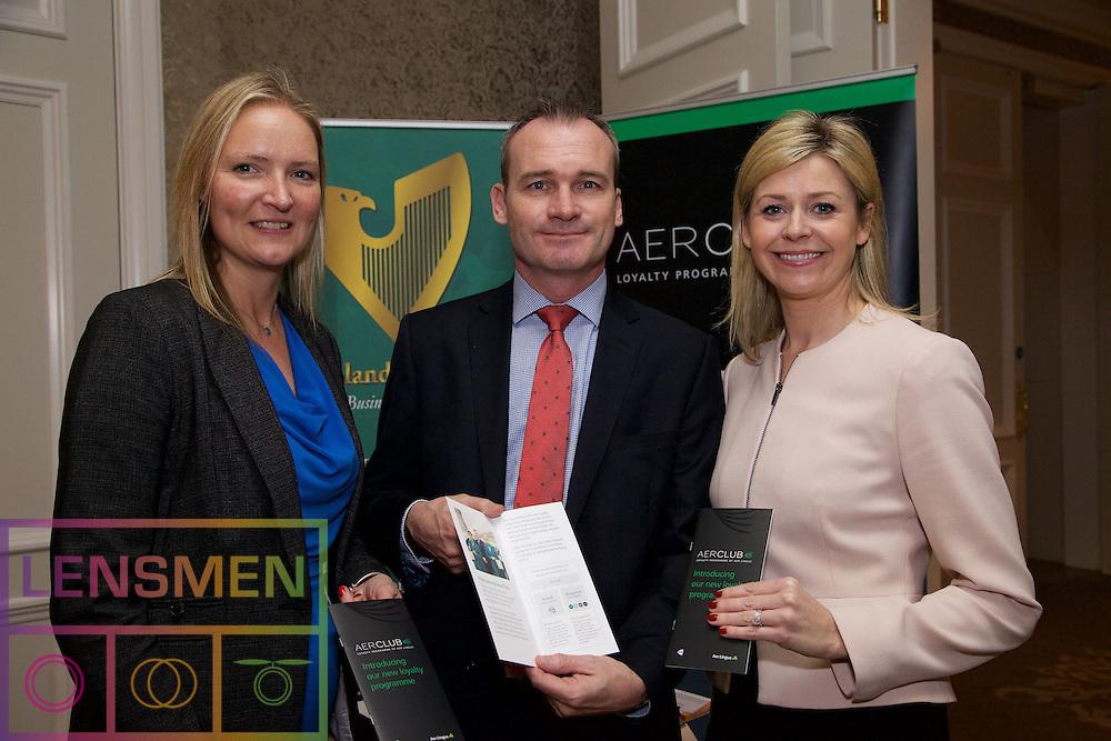 Andrea Hunter - Aer Lingus<br /> Alan Molloy - Aer Lingus<br /> Yvonne Muldoon - Aer Lingus
