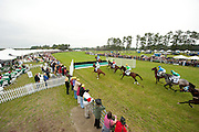 9  April, 2011:  Racing action in the Stoneybrook Cup.
